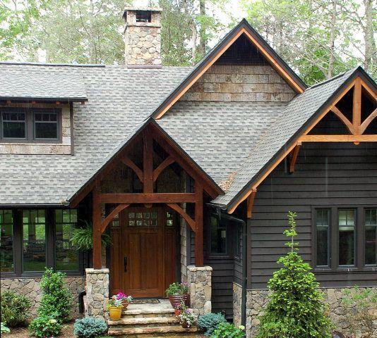 Paint For Home Exteriors: 104 Best Rustic Modern Exteriors