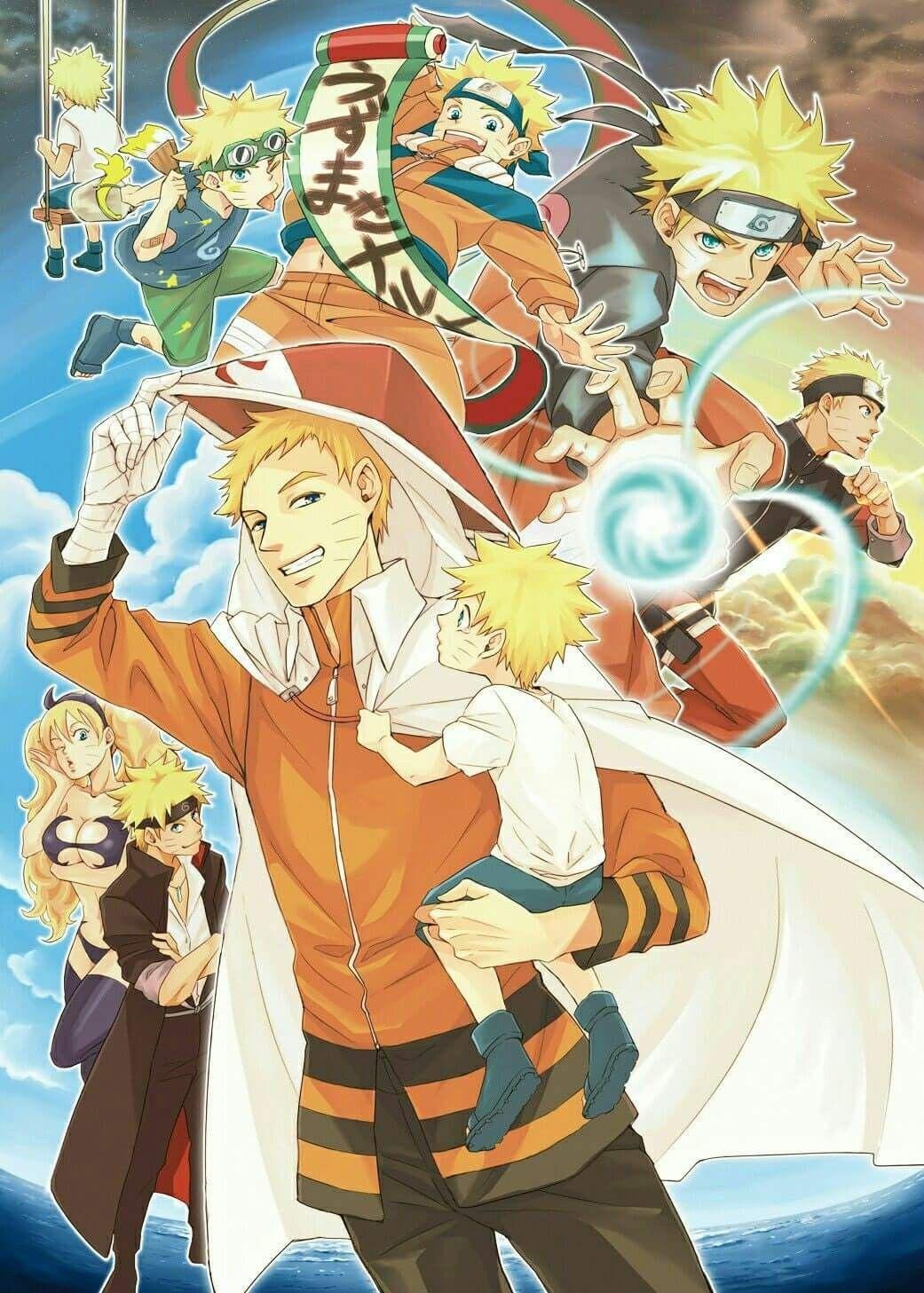 Naruto Uzumaki Beautiful Wallpaper Naruto Arte De