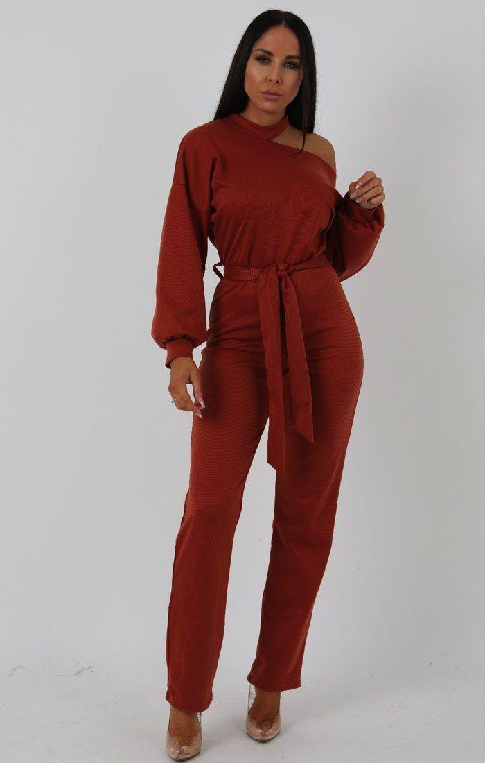 UK Womens 2 Piece Crop Top Jumpsuit Ladies Sleeveless Cut Out Playsuit Size 6-12