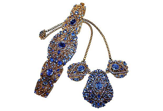 1930s Czech Necklace & Bracelet