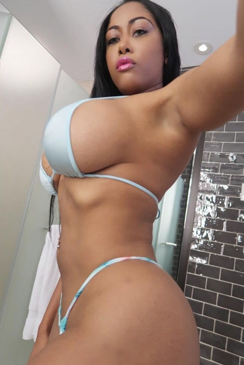 Mujeres Mulatas Porn pin en bikini