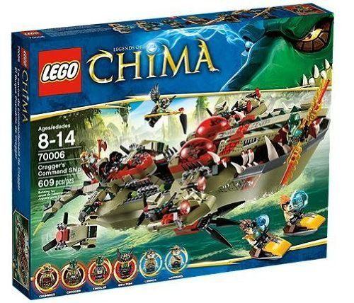 LEGO Legends of Chima 70006: Cragger's Command Ship, http://www ...