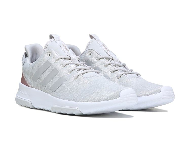 outlet store 36edc f64a6 Walk on clouds, race on foam in the Cloudfoam Racer TR Sneaker from Adidas.Breathable  mesh upper in a sneaker style with a round toeLace up entry for a ...