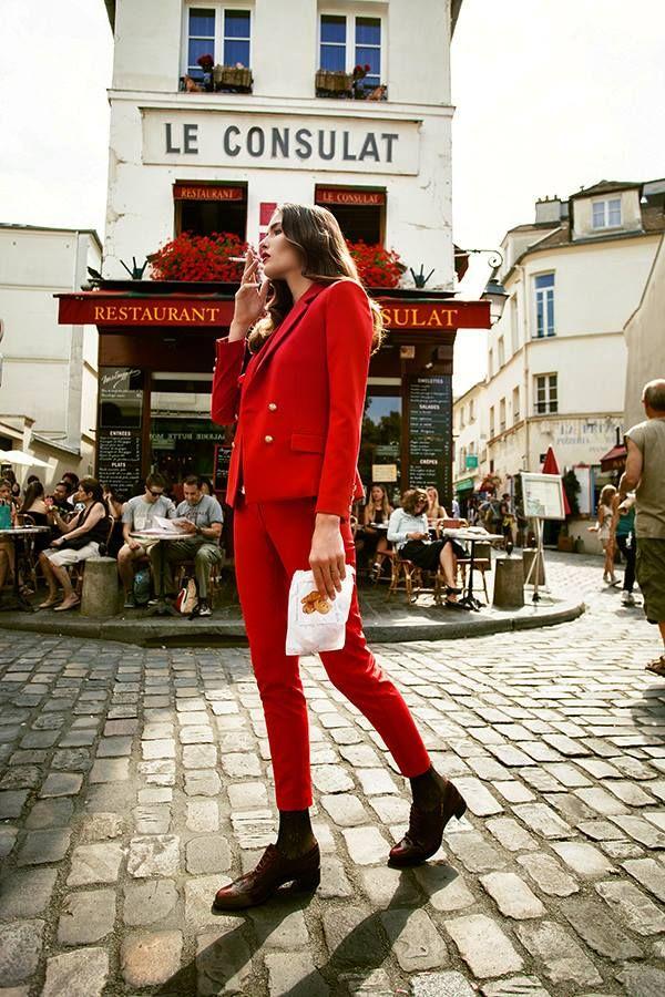 La-Parisienne  Neue Story - PARIS  photography by FRANK LÖSCHKE  production by KATRIN SCHÖNE