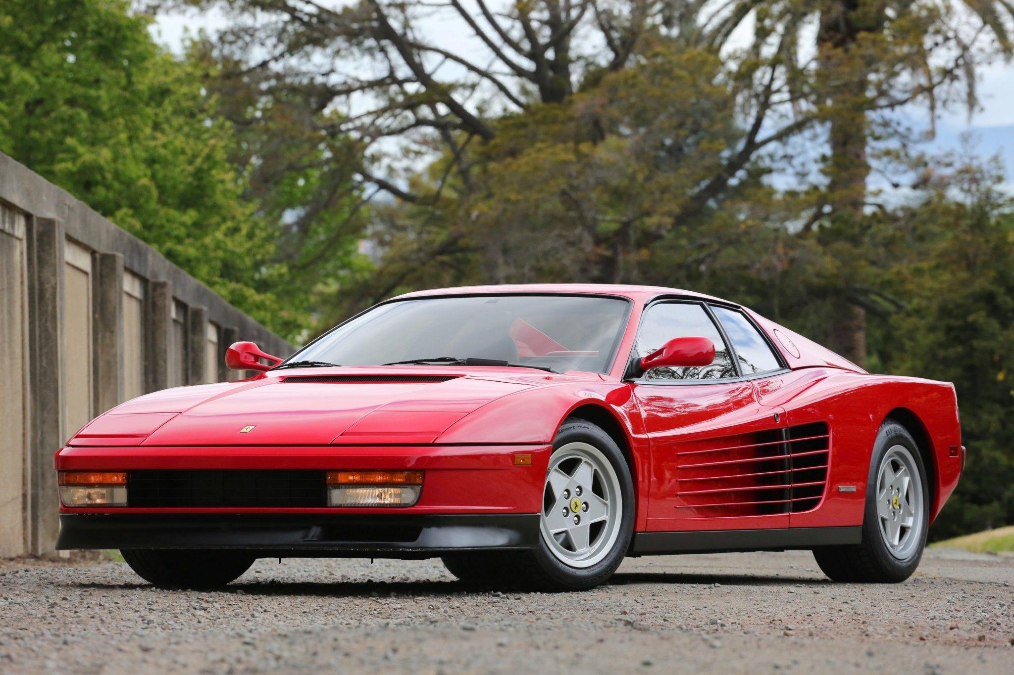 1990 Ferrari Testarossa Ferrari Testarossa Ferrari Classic Cars
