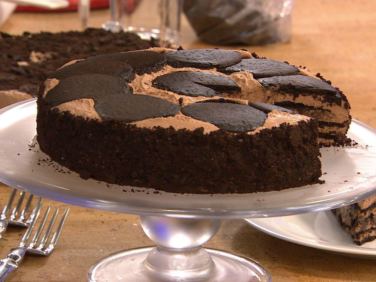 Want. This. Now. Gail Simmons' icebox chocolate cheesecake