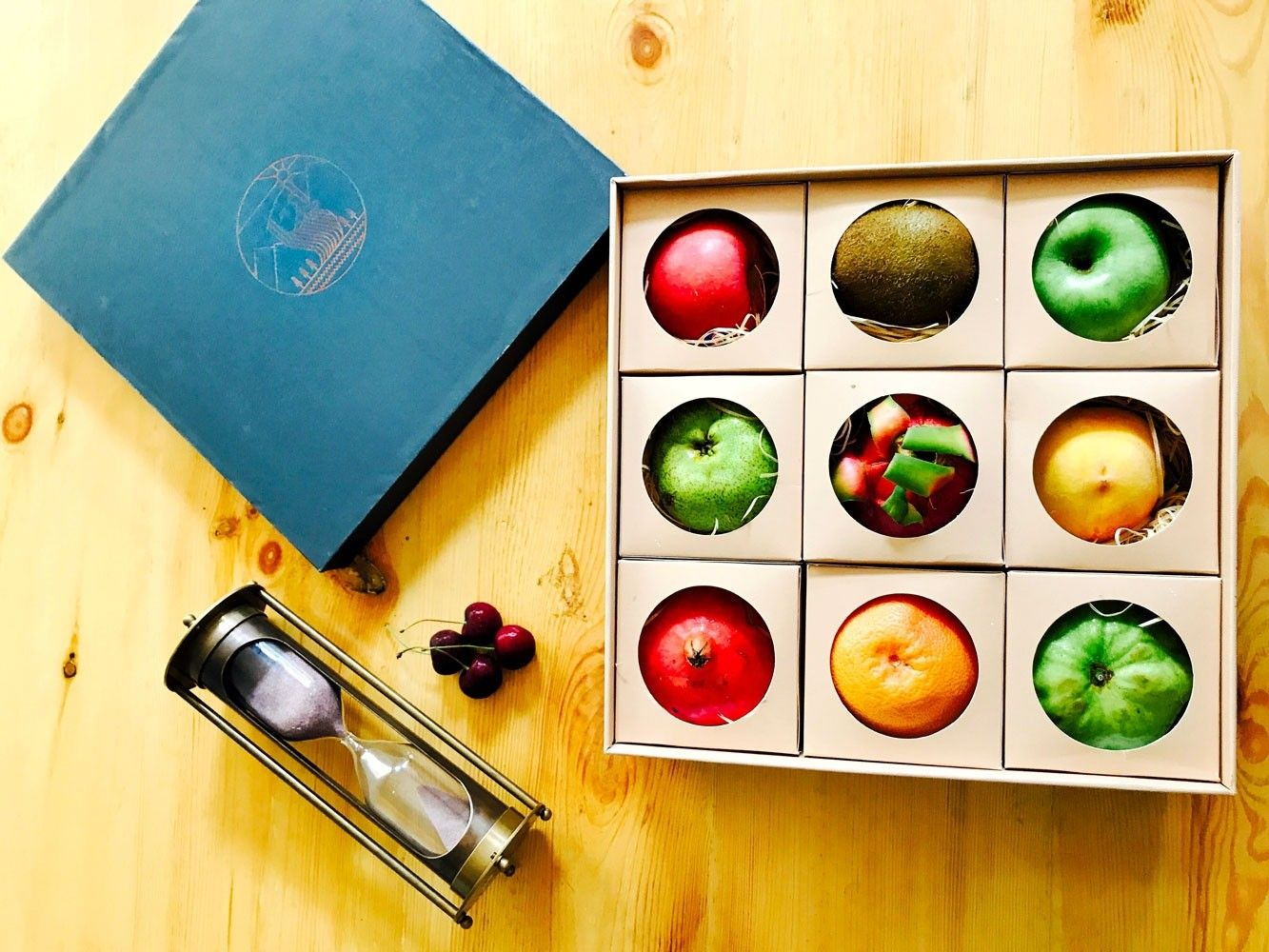 Buy gourmet assorted fruit gift box the medley the
