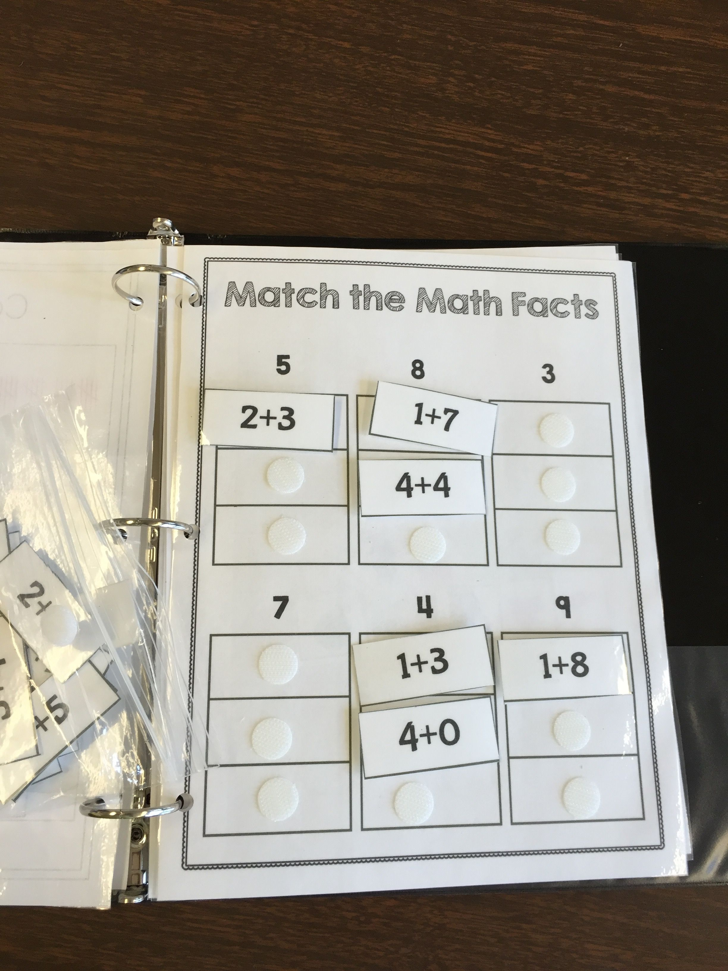 Interactive Reading and Math Work Books - The Autism Helper