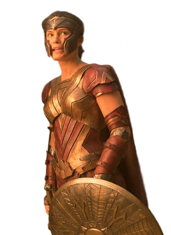 Menalippe Amazonian Warrior Wonder Woman Buddha Statue
