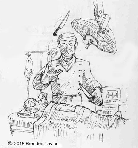 Brenden Taylor Illustration
