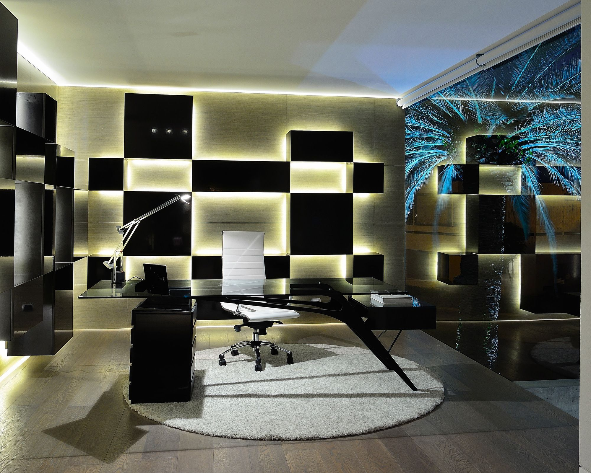 Office Back Wall Design