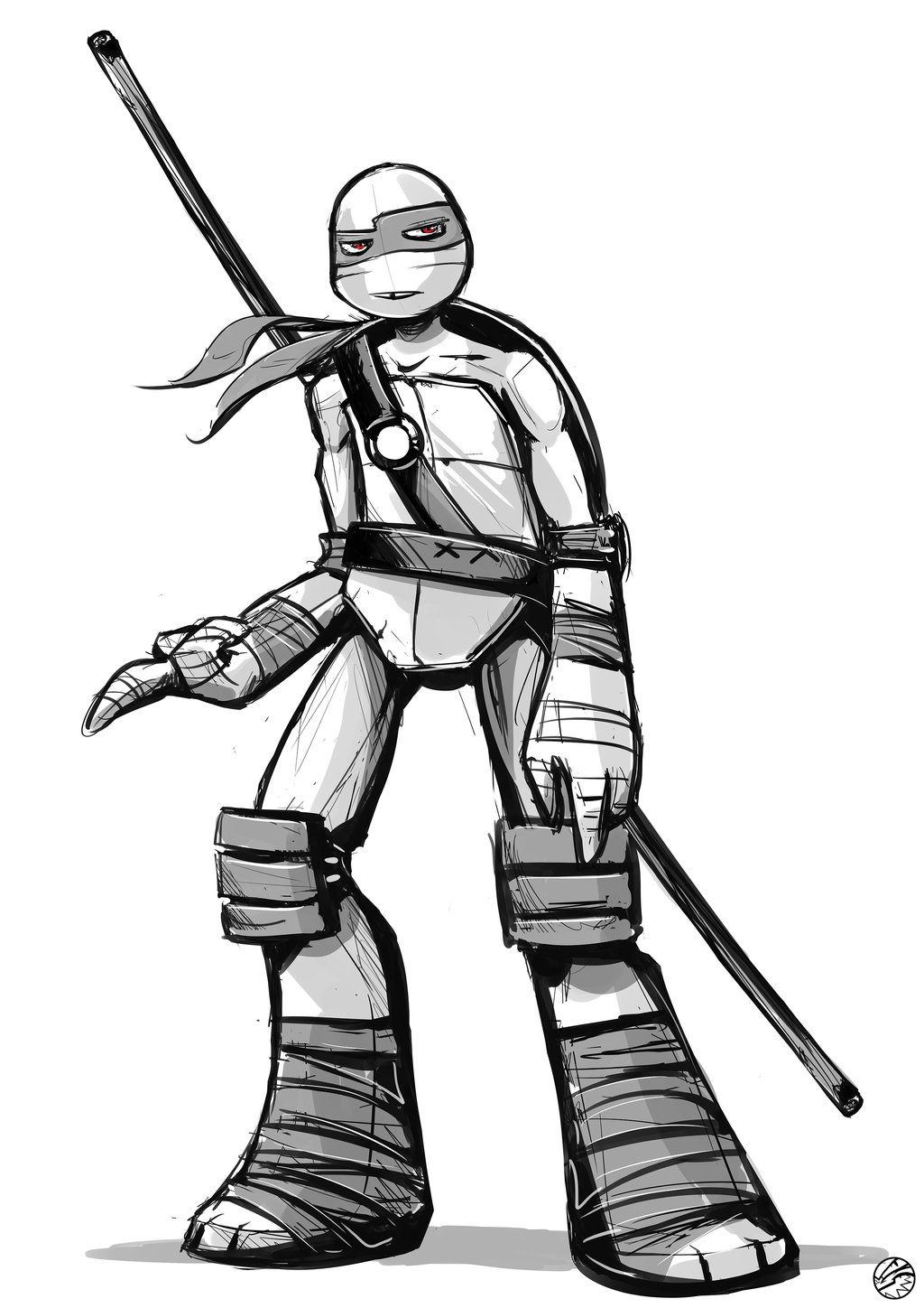 Fan Art | Donnie Quick Sketch by FearDaKez.deviantart.com on ...