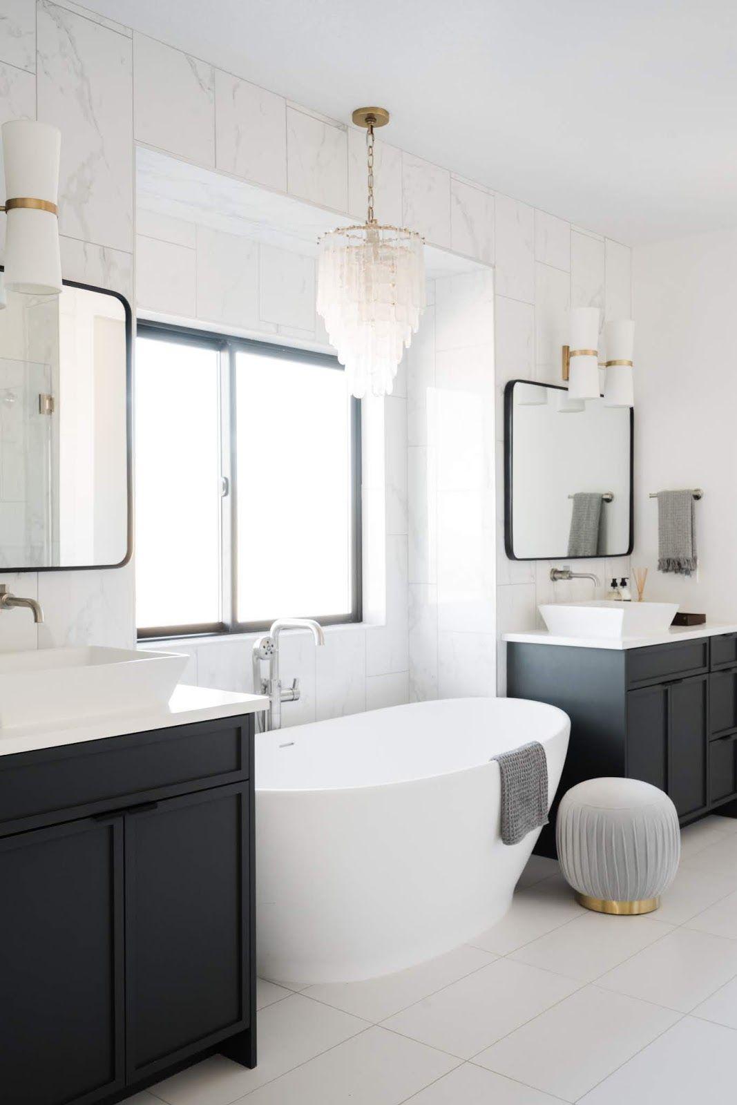 Best Schroeder House Reveal Main Level Master Bedroom 400 x 300