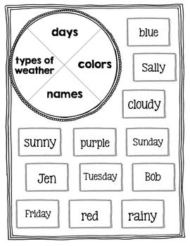 First Grade Common Core Language Activities & Printables