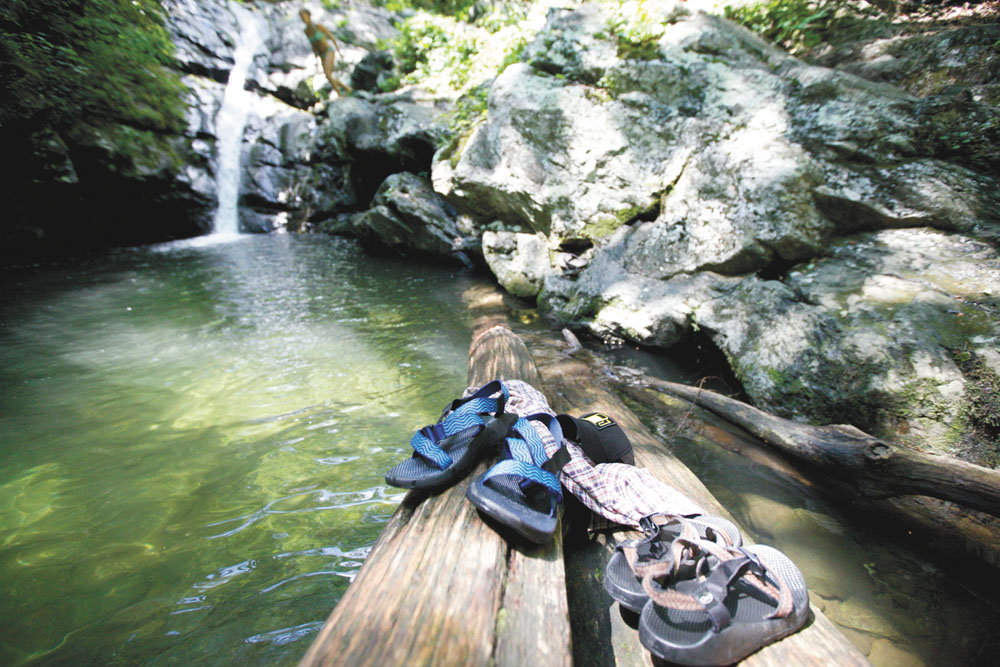 Swimmers' Guide to the Blue Ridge Parkway