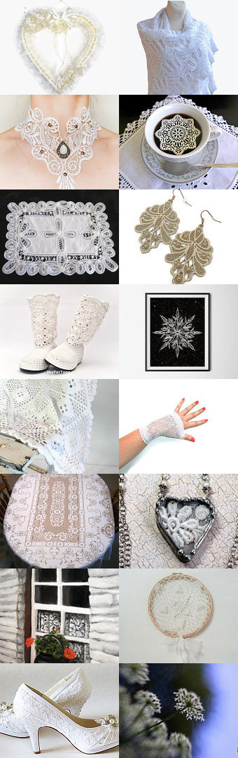 Lacey Things to Love by Carla on Etsy--Pinned with TreasuryPin.com