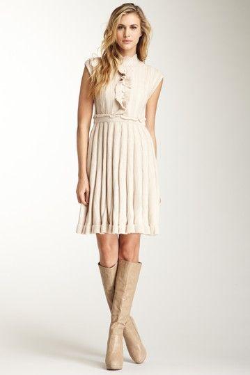 1db83d4724b Jessica Simpson Empire Waist Ruffled Bodice Retro Sweater Dress. Just  bought this dress! Love it!