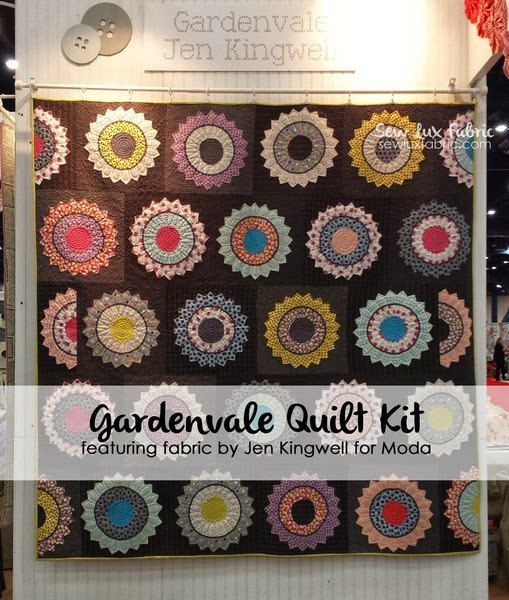 Gardenvale Quilt Kit 18100 Featuring Gardenvale Fabric from Jen Kingwell for…