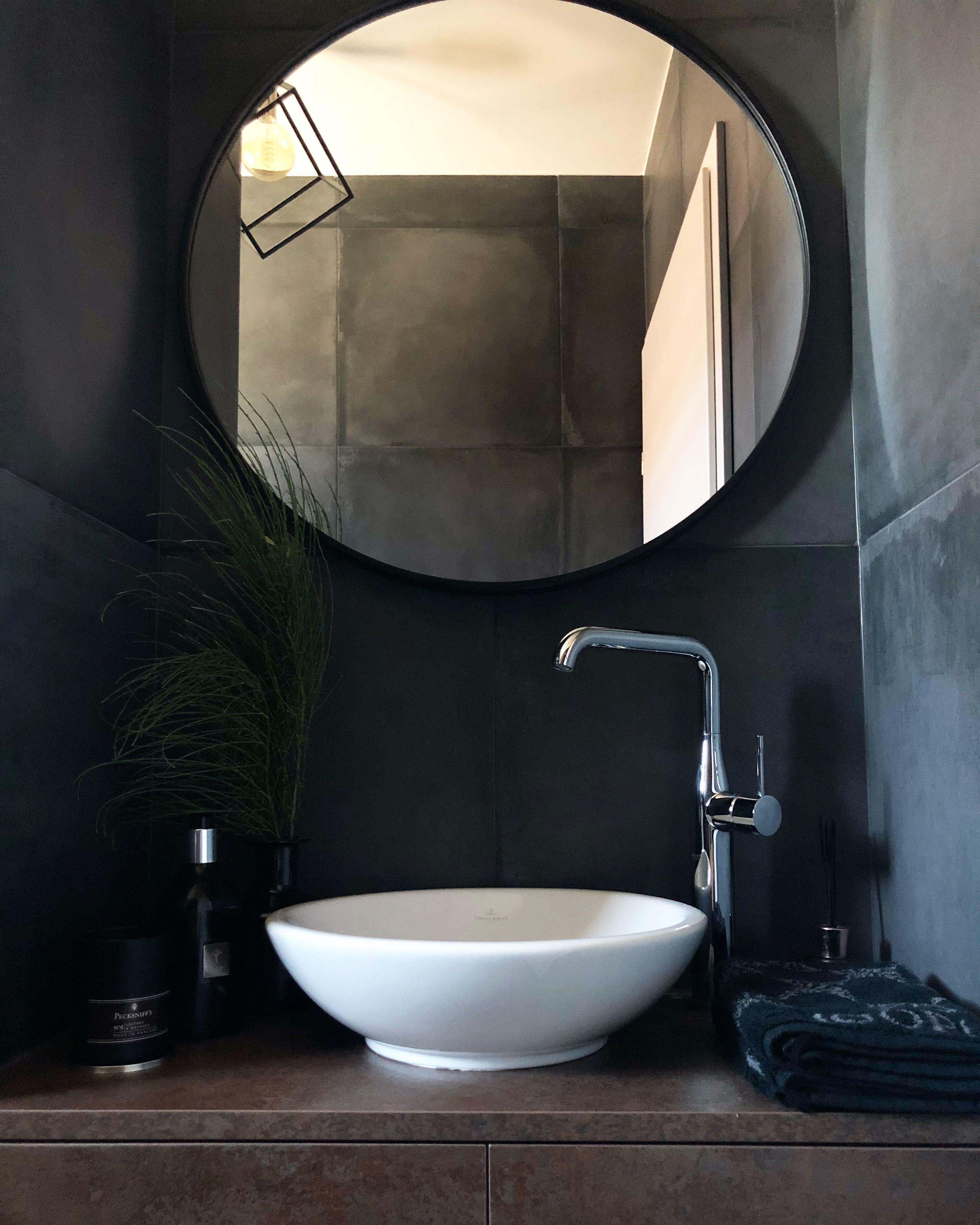 Interior Interiordesign Wc Gastewc Dunkel Liebe Toilette
