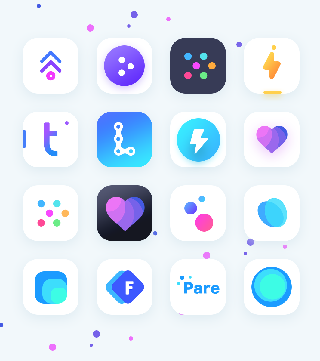 76.2.unused app icons collections 2x Logo design app