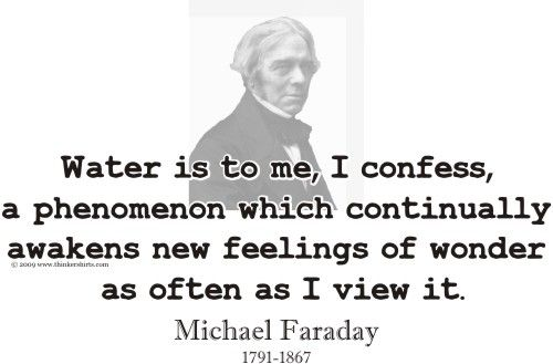 ThinkerShirts.com Presents Michael Faraday And His Famous
