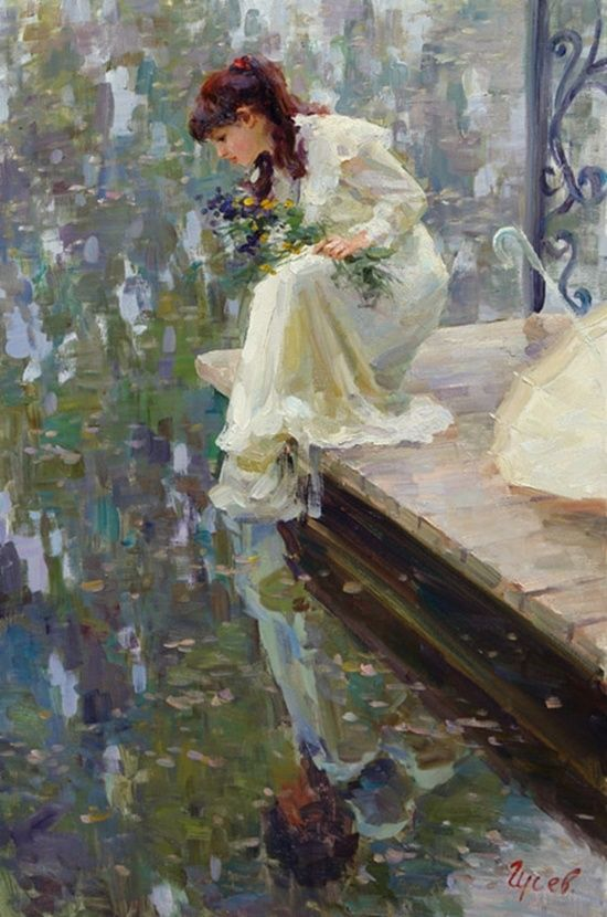 Thanks for all the cute pins today! Tonight and Tuesday, let's do art by VLADIMIR GUSEV.