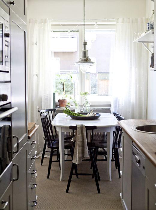 NORRARYD Stuhl, schwarz   Küche   Pinterest