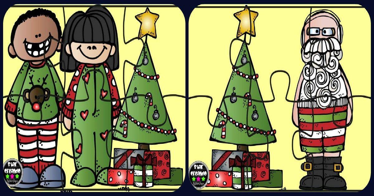 Puzzles de navidad a todo color imprimir, recortar plastificar y ...