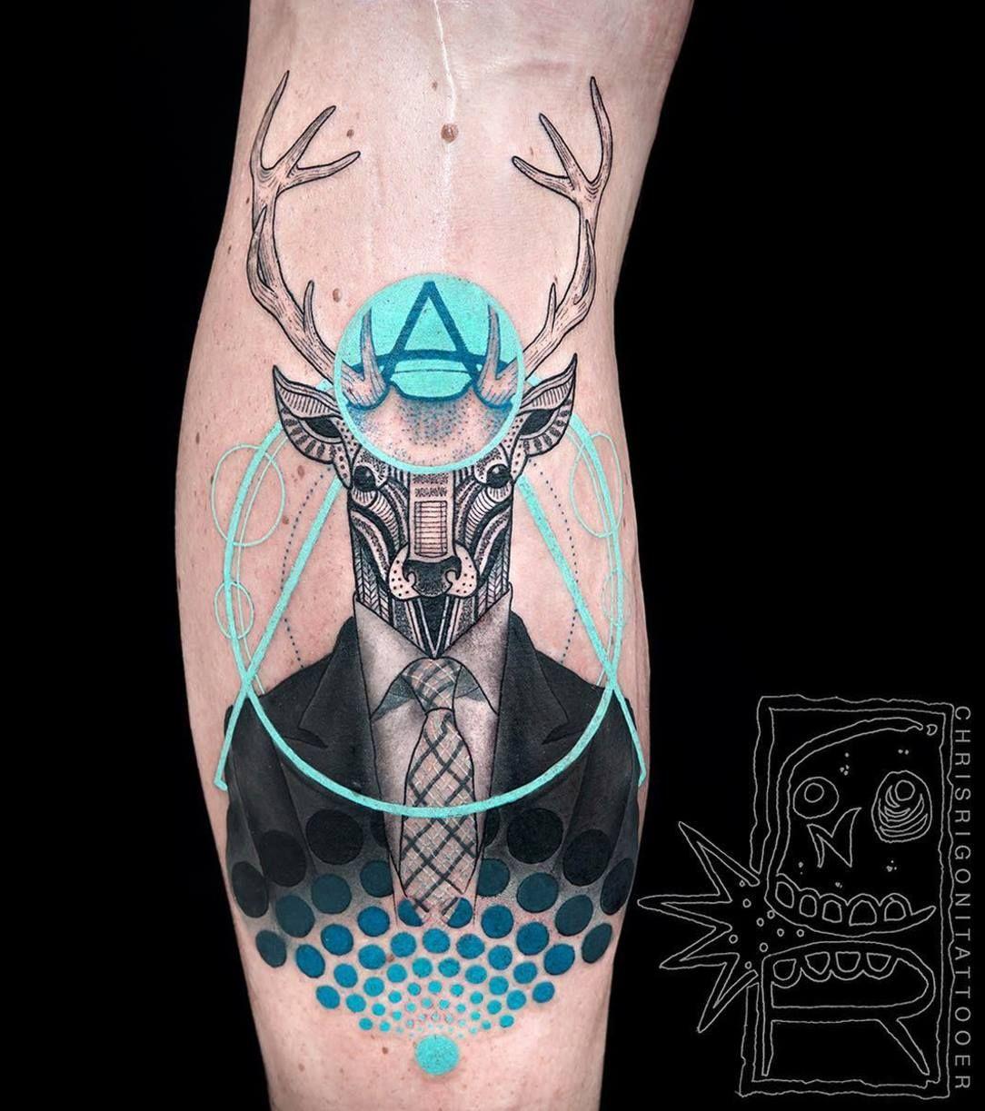 Deer (tattoo): the figure value