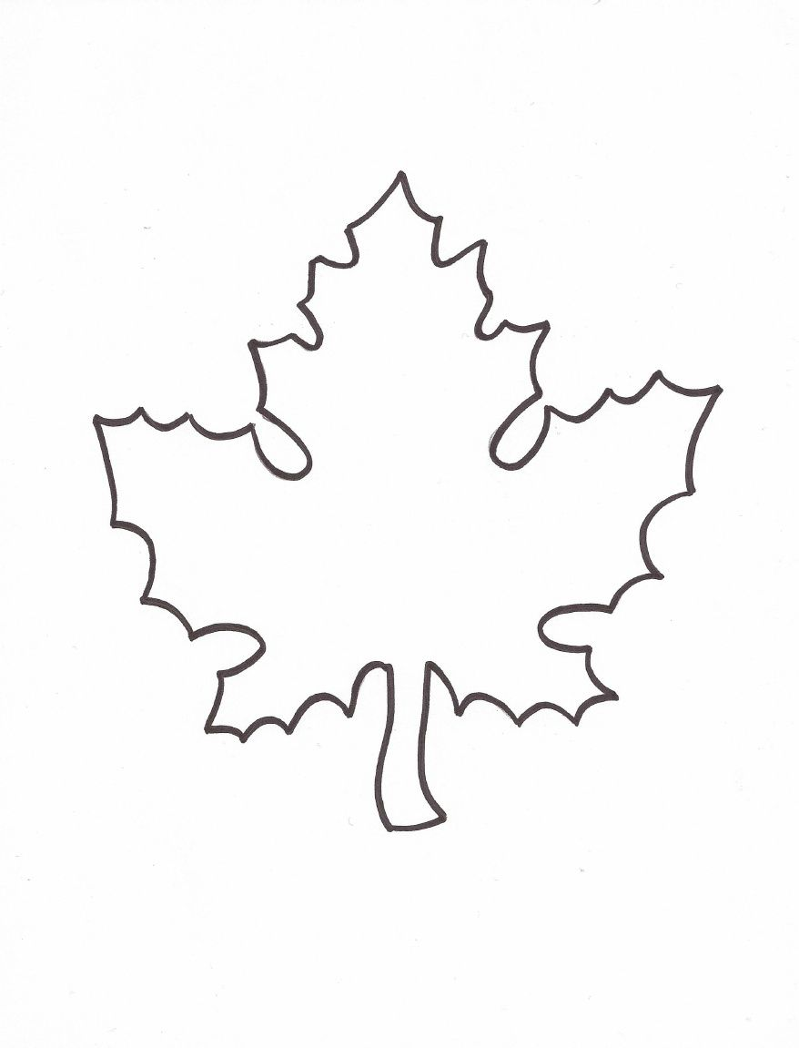 Leaf Template To Use For Giving Thanks Writing Activity To Hang From My  Classroom Ceiling!  Leaf Template For Writing