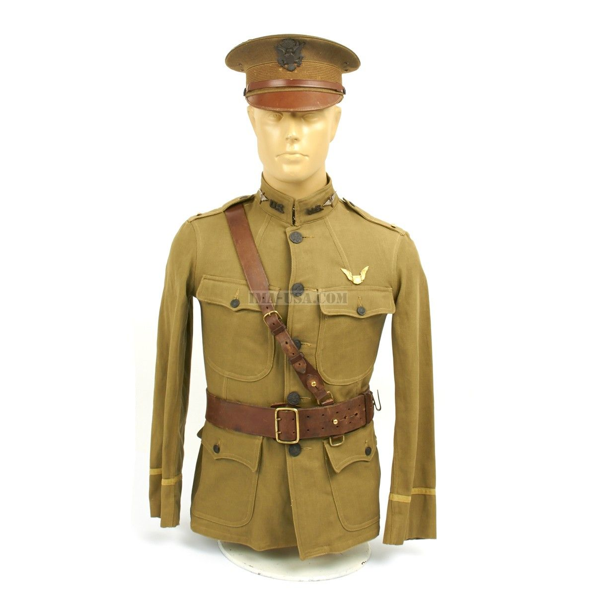 Original U.S. WWI Army Air Service Aviator Quentin Roosevelt Uniform ...