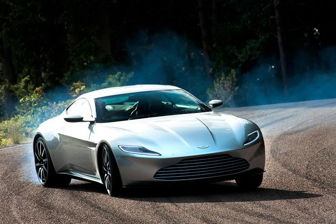 TestDriving James Bonds Snazzy New Aston Martin  Aston martin