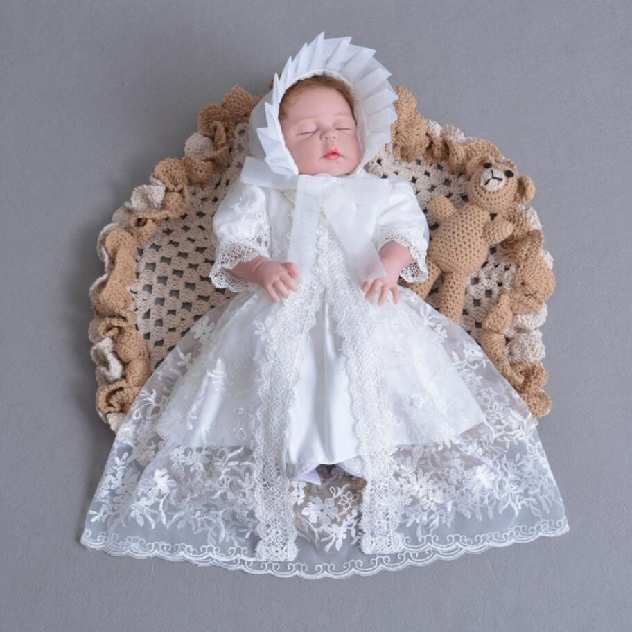 Traditional Spanish Baby Girls Boys White Knitted outfit Small Baby// Premiere