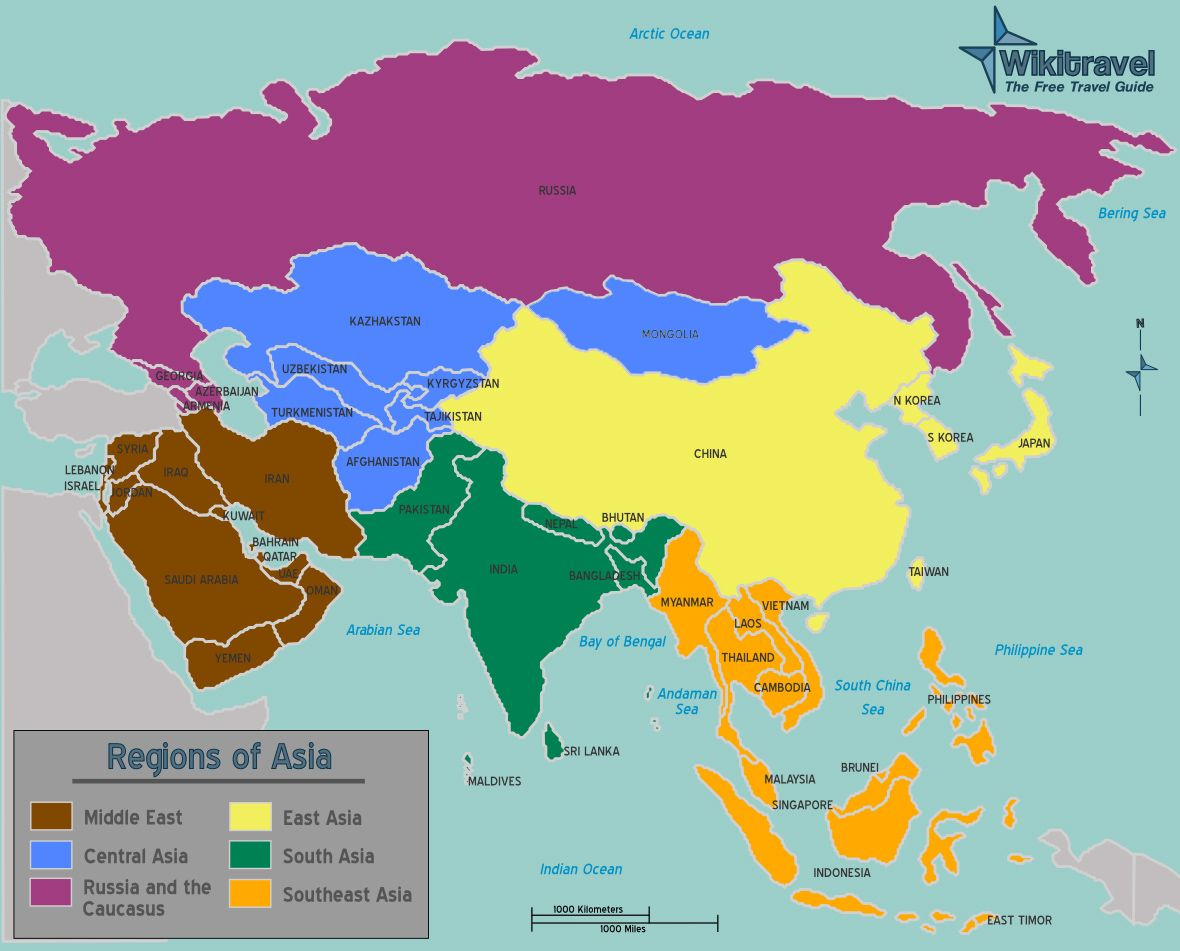 Regional Map Of Asia.Regions Of Asia Map Australian Curriculum Geography Australian