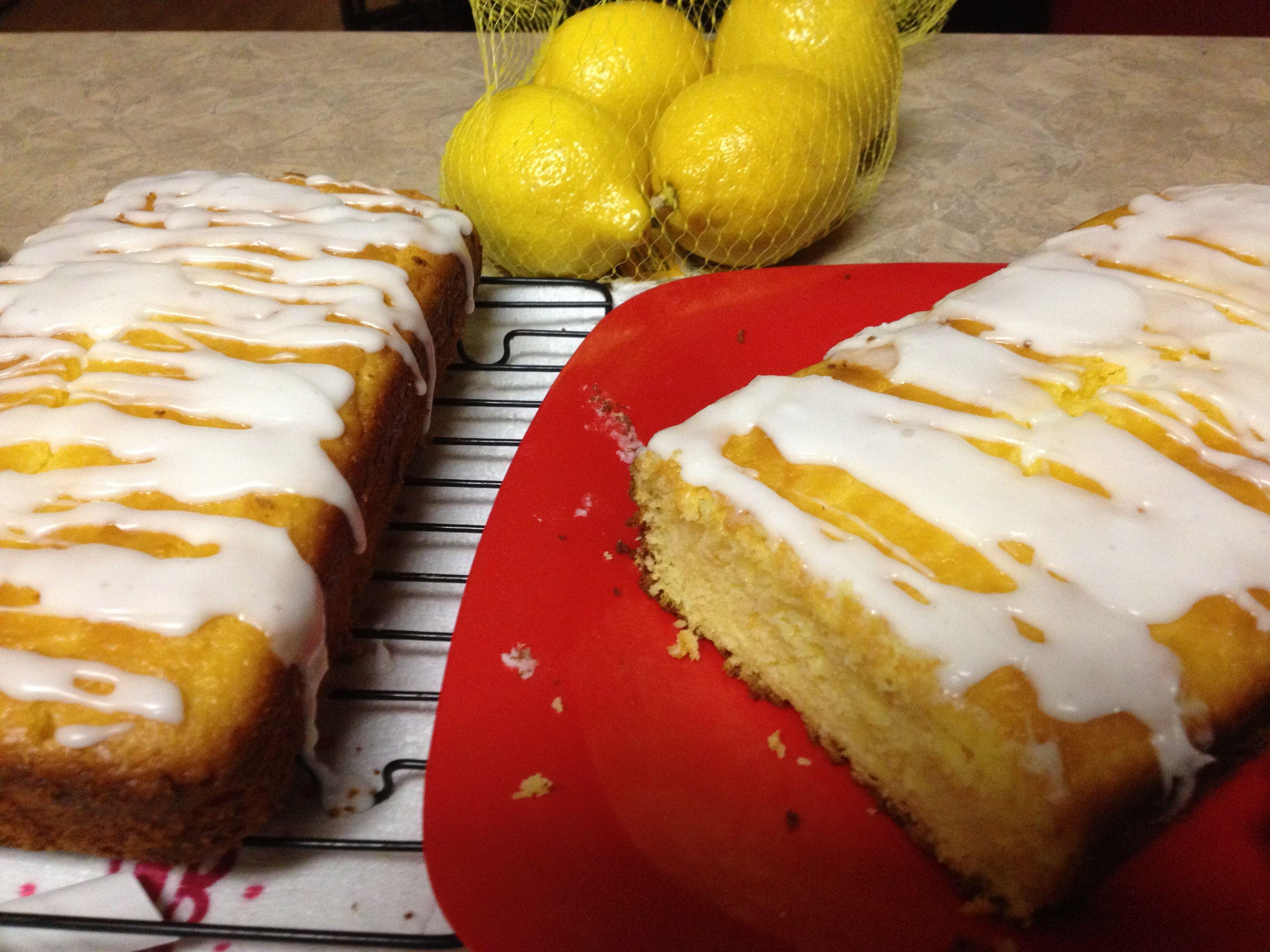 Easy lemon pound cake 1 box yellow cake mix 1 box instant