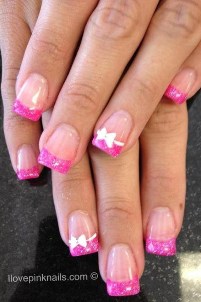 pink#nails | nails | Pinterest | Pink nails, Manicure and Makeup