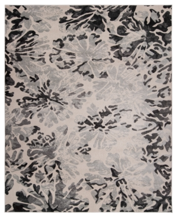 Km Home Closeout Steelo Bloom Silver 8 X 10 Area Rug Reviews
