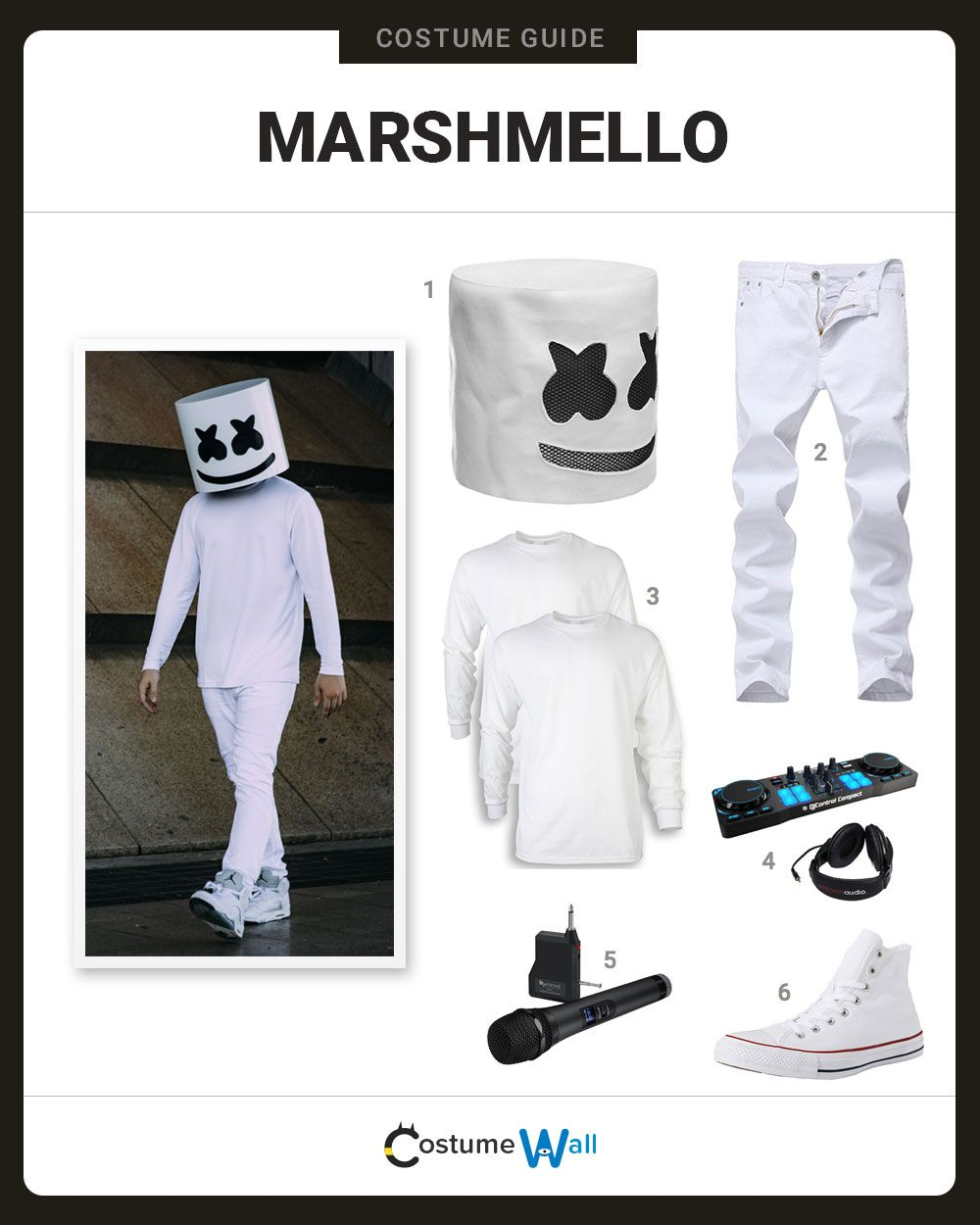 Dress Like Marshmello With Images Kids Costumes Boys