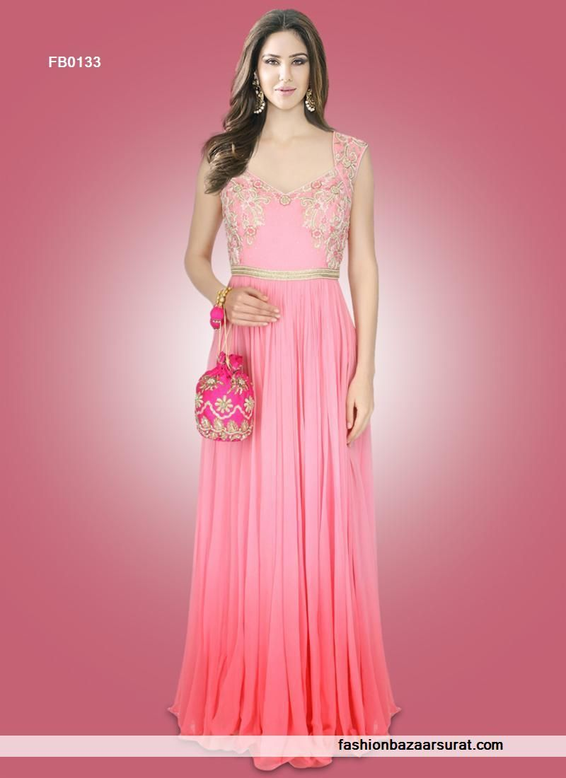 Buy indian Gown online with the finest collection of indian desi ...