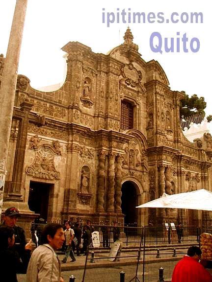 Quito colonial. FOTO por Artur Coral-Folleco /NOTICIAS AC-F /NUEVA YORK /ipitimes.co®. Quito, Ecuador, 15 de enero de 2006.