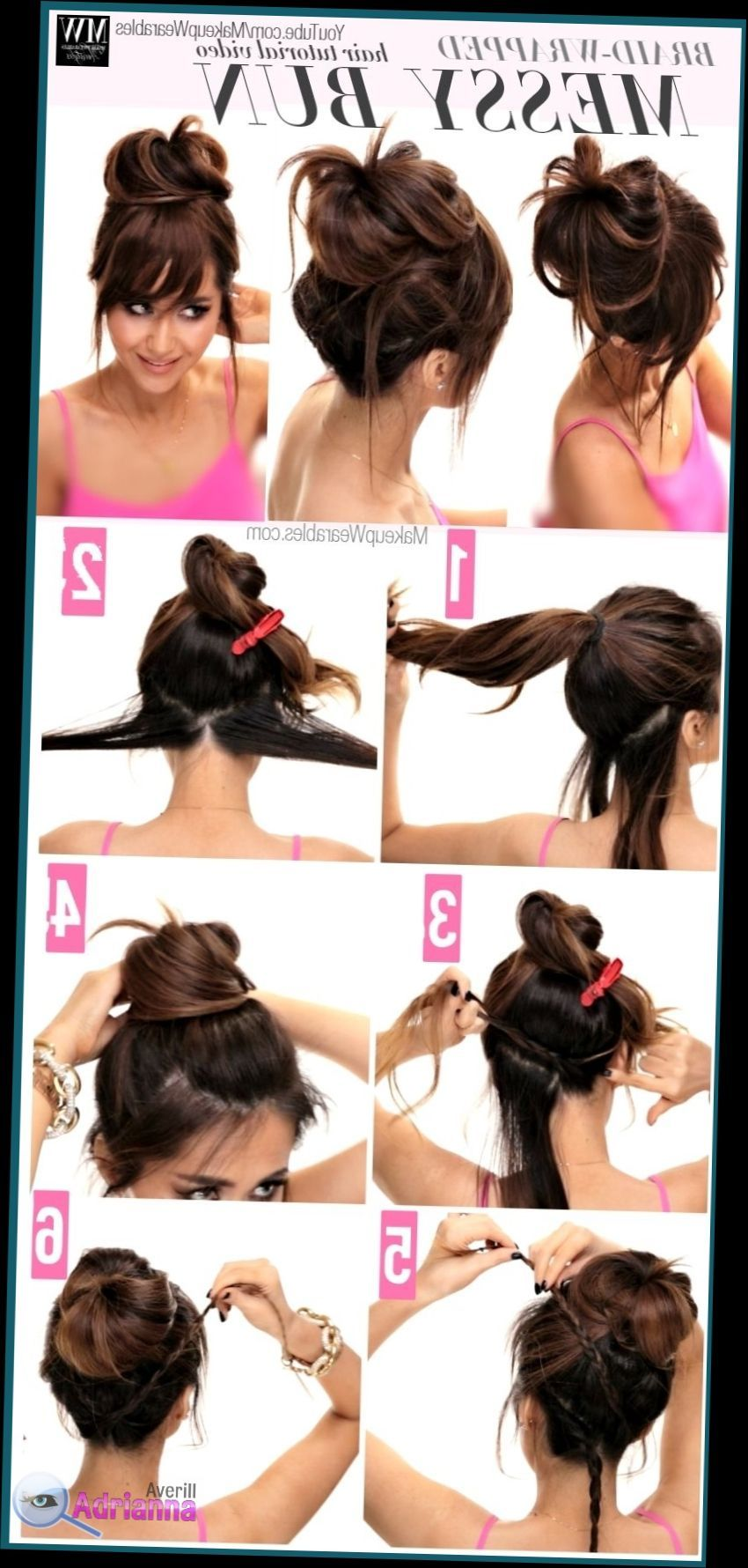 Simple Hairstyle For Saree Step By Step Juda Hairstyle For Saree Step By Step Bun Hairstyles For Long Hair Medium Hair Styles Messy Bun Updo
