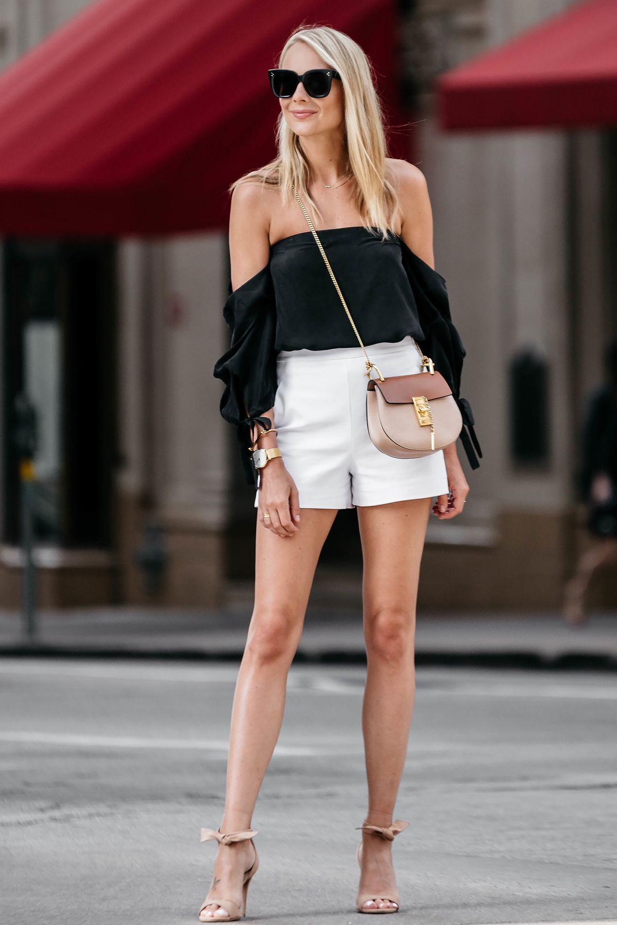 To acquire High black waisted shorts club outfit picture trends