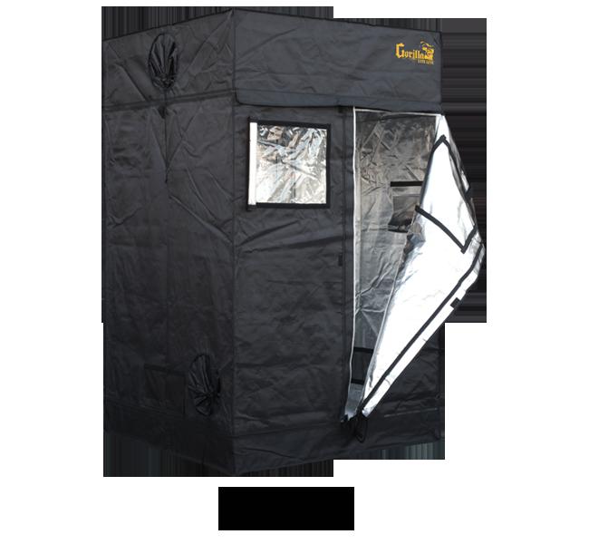Gorilla Grow Tent LITE Line 44 – 4′ X 4′ X 6'7″