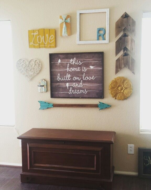 Arrow Wall Hobby Lobby Hobby Lobby Decor Home Decor Finishing Basement