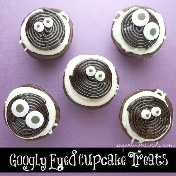 Easy Googly Eyed Treats MINI CAKES Pinterest Googly eyes
