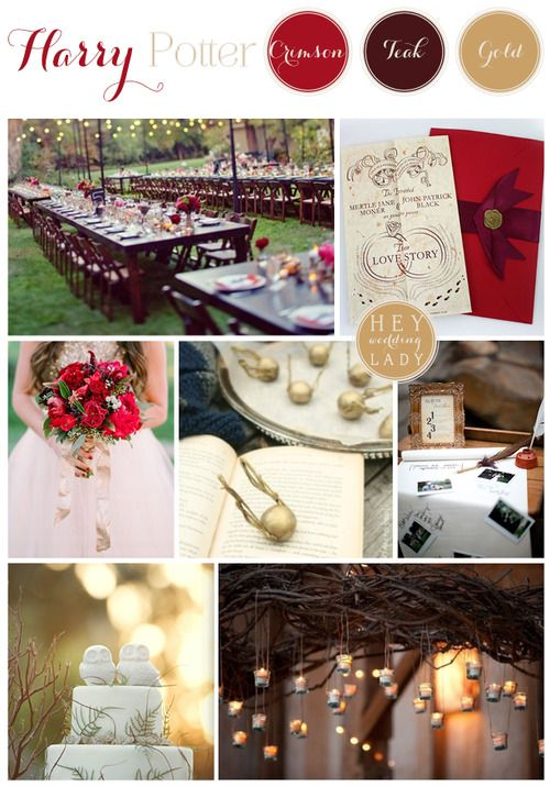 Rustic Harry Potter Wedding Weddings Pinterest ślub And