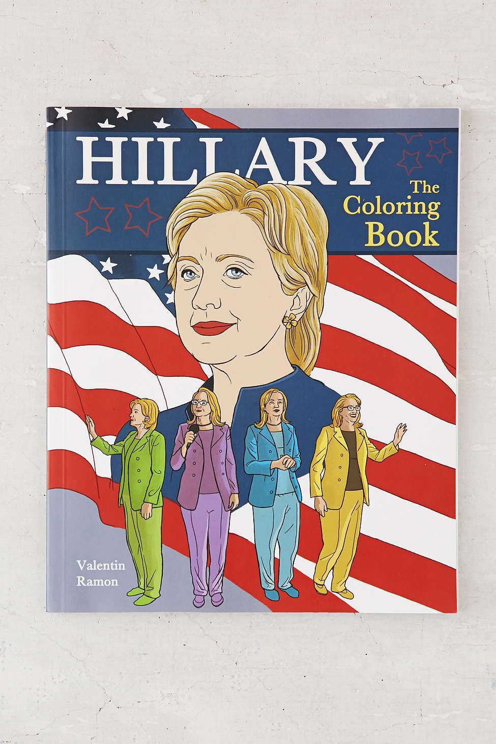 Hillary The Coloring Book By Valentin Ramon