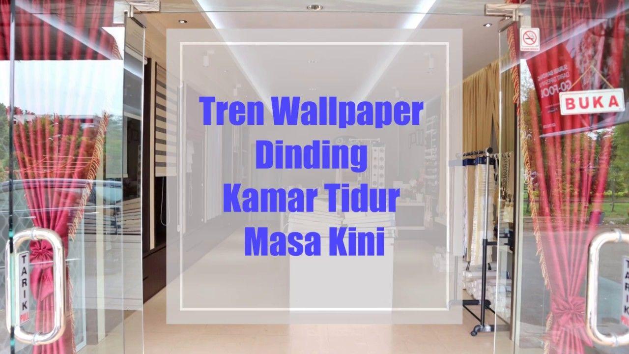 Tren Wallpaper Dinding Kamar Tidur Masa Kini
