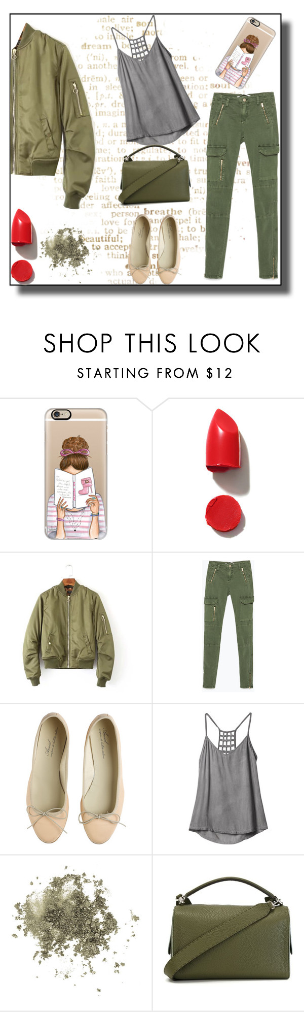"""""""Style weekend"""" by elarmariodelcamaleon ❤ liked on Polyvore featuring Casetify, NARS Cosmetics, Zara, Anniel, RVCA, Topshop and Fendi"""