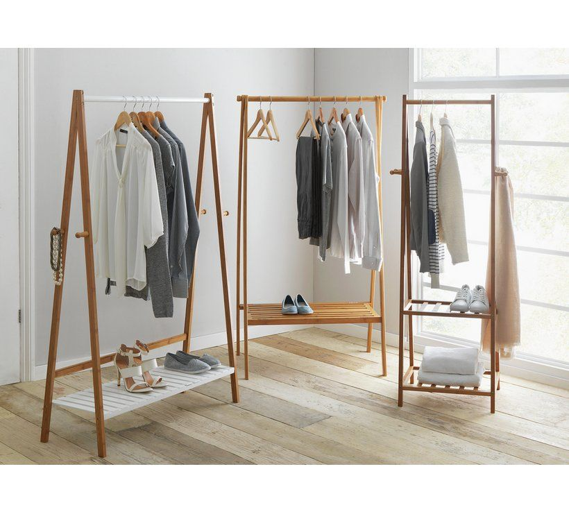 Buy Argos Home Belvoir Clothes Rail with Shelf - Bamboo & White | Hanging  rails | Argos | Clothes rail with shelves, Clothes rail, Hanging clothes  racks